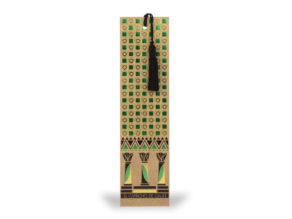 Bookmark with Tassel - Indian Range
