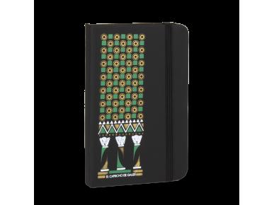 Leatherette Notebook - Indian Range
