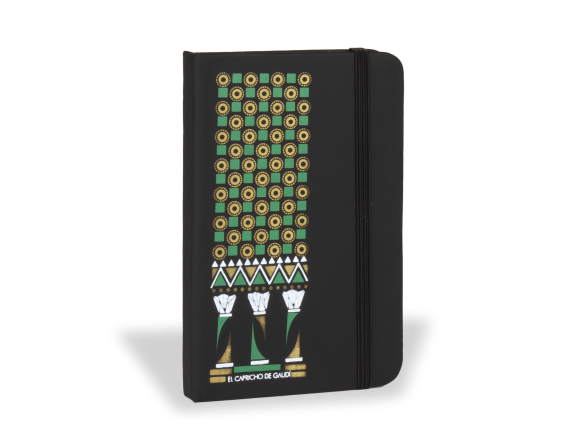 Leatherette Notebook - Indian Range
