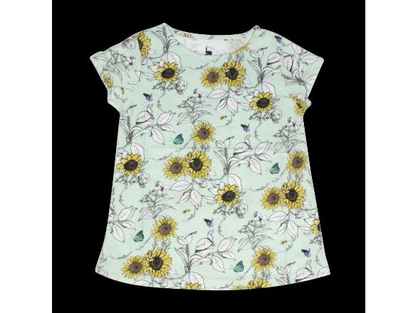 T-Shirt for Girls - Sunflowers