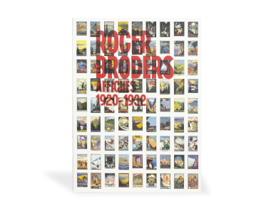 Roger Broders catalogue presented from the front