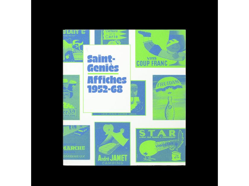 catálogo de Saint-Geniès presentado de frente