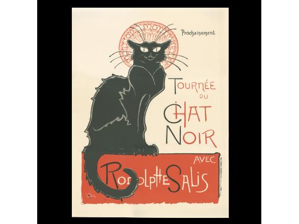 litografia de l'cartell de l'cabaret Le Chat Noir