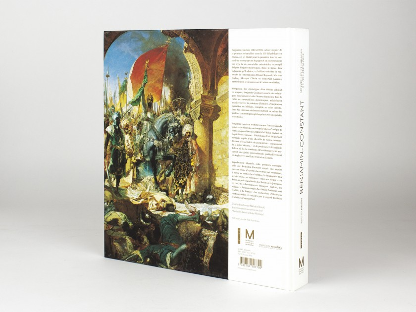 cover of an exhibition catalogue dedicated to Benjamin-Constant