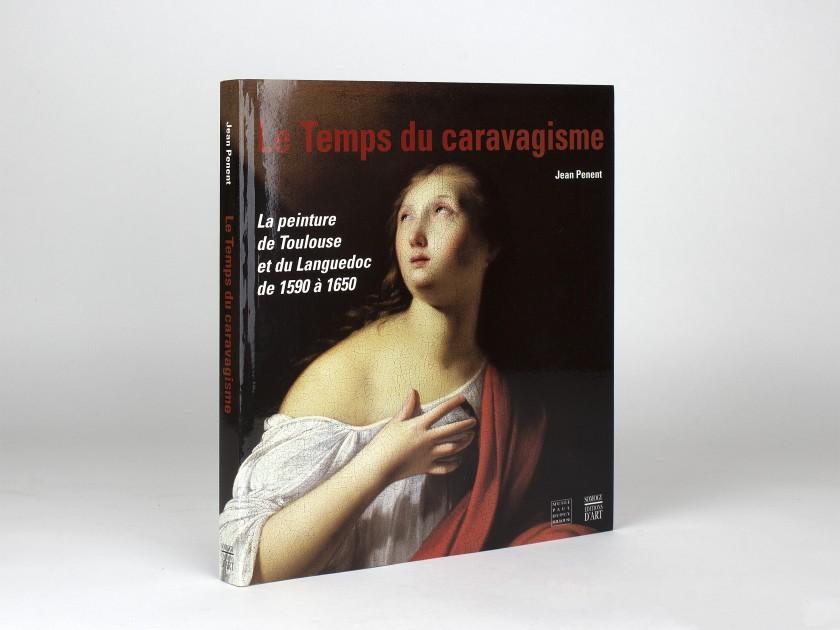 """cover of the exhibition catalogue """"le temps du caravagisme""""."""