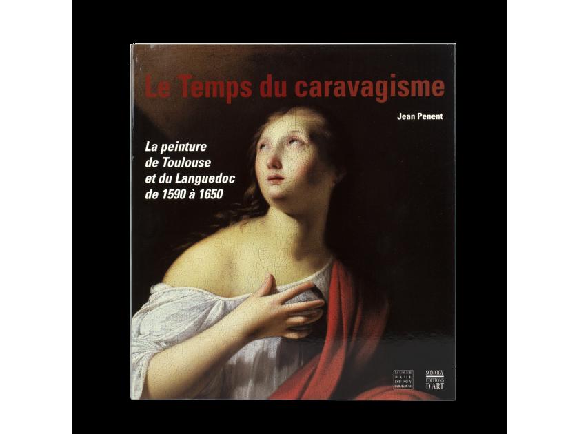 "tapa del catálogo de la exposición ""Le temps du caravagisme"""