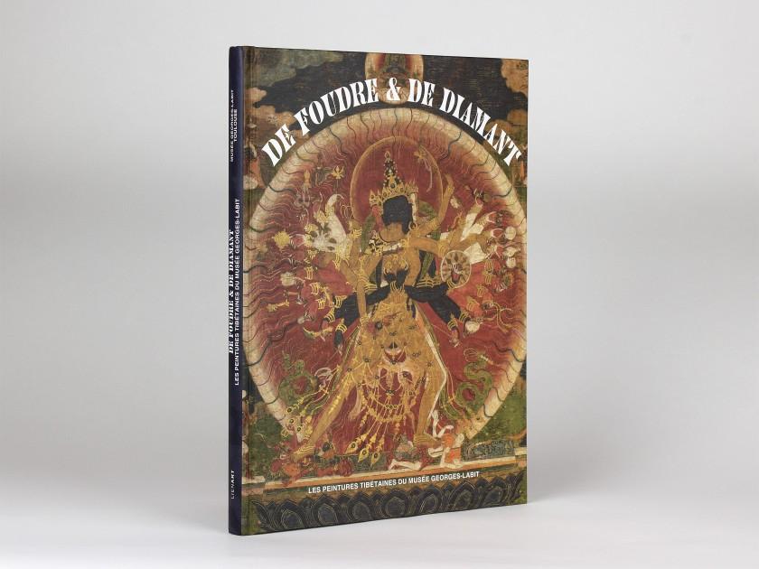 "cover of the exhibition catalogue ""De Foudre & de Diamant"