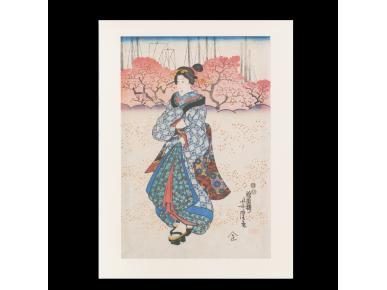 Gravat de l'artista japonès Yoshitora.