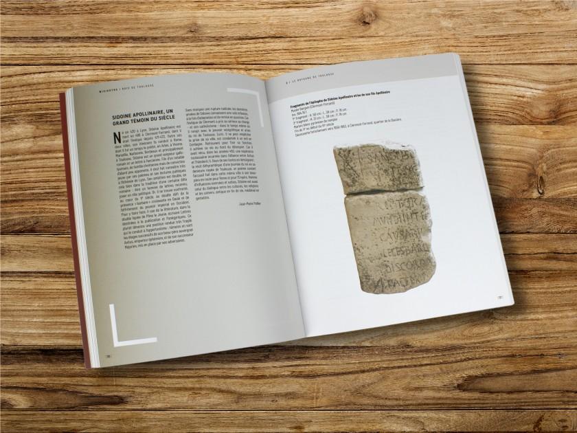 """Couverture du catalogue de l'exposition """"Wisigoths rois de Toulouse"""""""