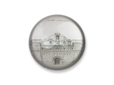 Dome Paperweight - Main Facade