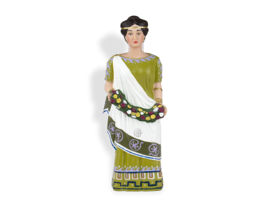 plastic figurine of Cleopatra