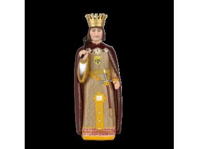 Plastic figurine of King Jaume I