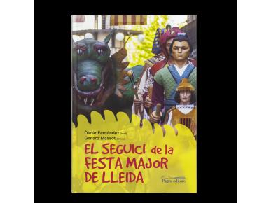 """tapa d'un llibre titulat """"El seguici de la festa major de Lleida"""
