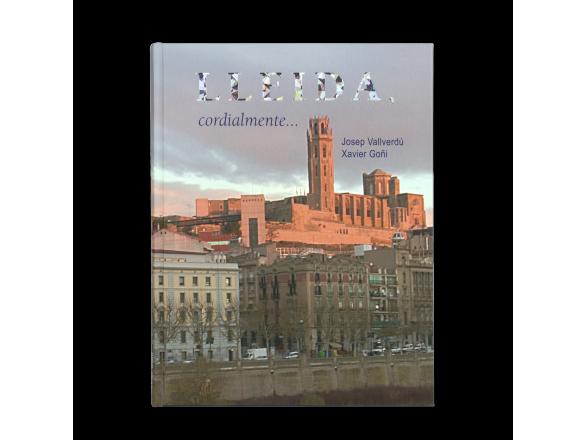 """tapa de un libro con el título """"Lleida Cordialment"""""""