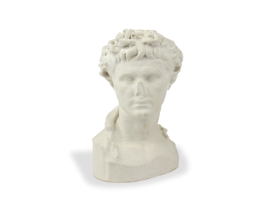Bust de l'emperador August vist de front