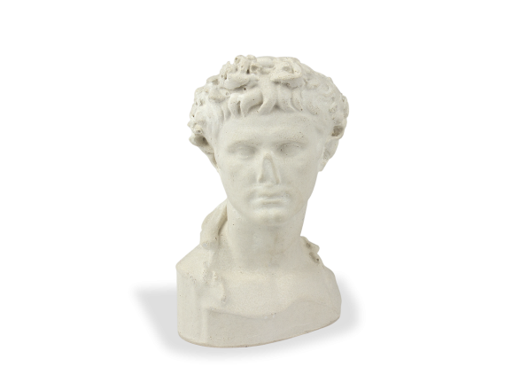 Bust of the Emperor Augustus seen from the front
