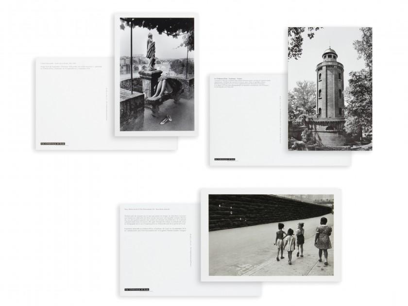 seis postales de fotógrafos