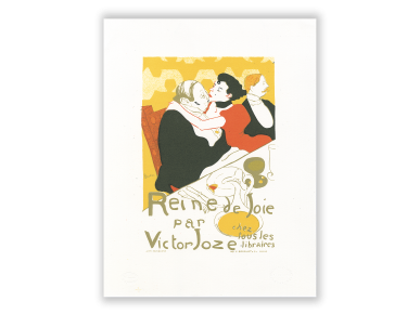 Litografía - Reine de Joie
