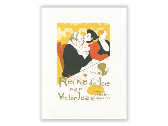 Lithographie - Reine de Joie