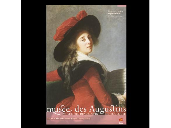 """cartel del cuadro """"La baronne de Crussol"""