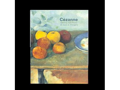 tapa del catálogo de una exposición dedicada a Cézanne