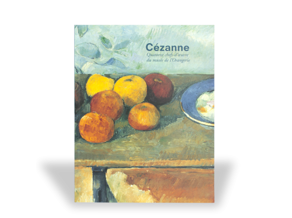cover of the catalogue of an exhibition dedicated to Cézanne