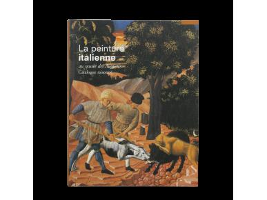 tapa de el catàleg d'una exposició dedicada a la pintura italiana