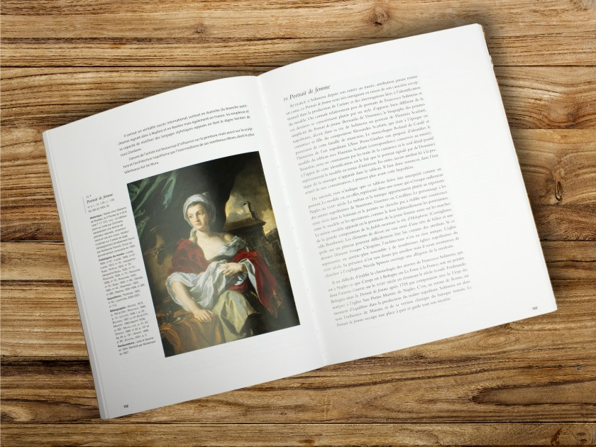 cover of the catalogue of an exhibition dedicated to Italian painting