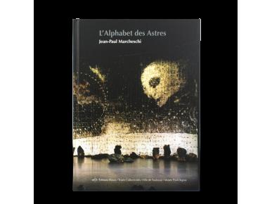"""tapa del catálogo de la exposición """"L'alphabet des astres"""""""