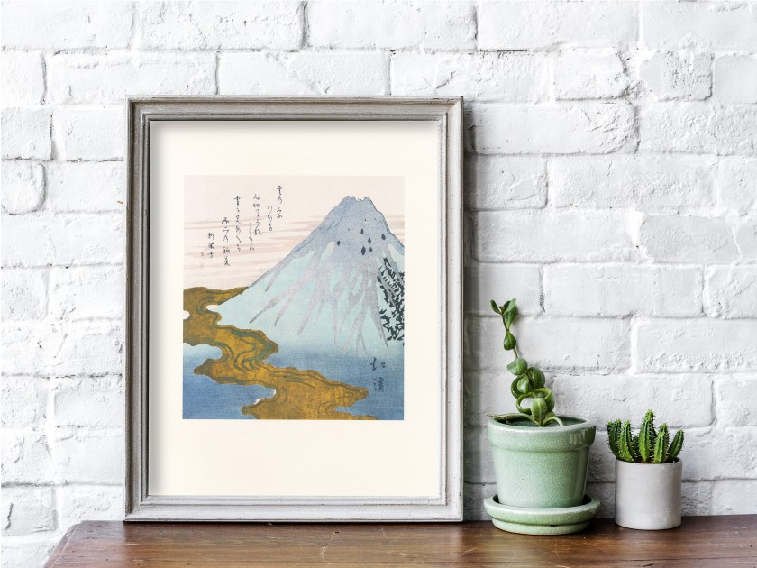 Grabado del artista japonés Hokkei