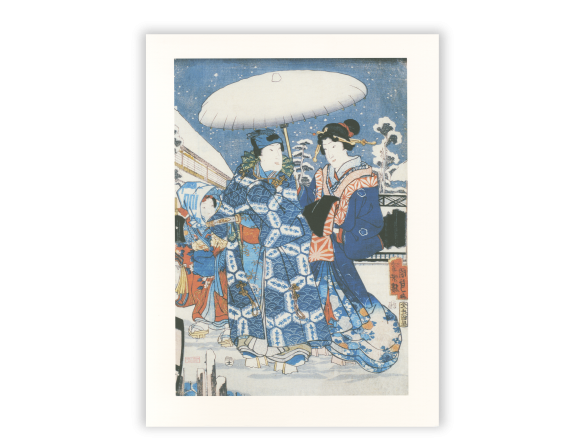 Print by the Japanese artist Kunisada