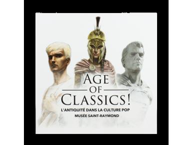 """Tapa de l'catàleg de l'exposició """"Age of Classics!"""""""