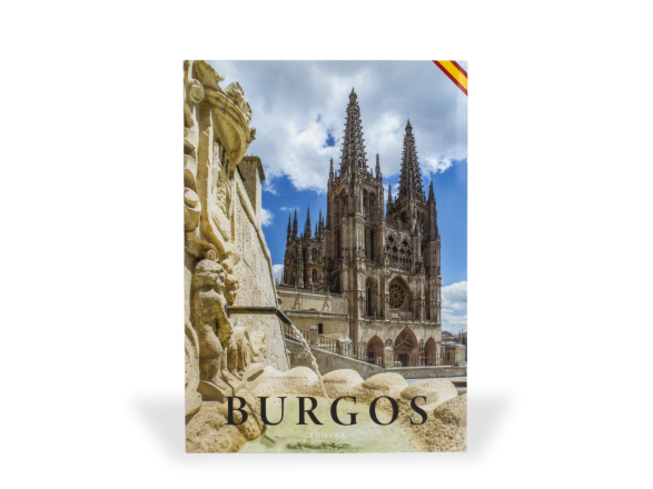 cover of a guide book on burgos