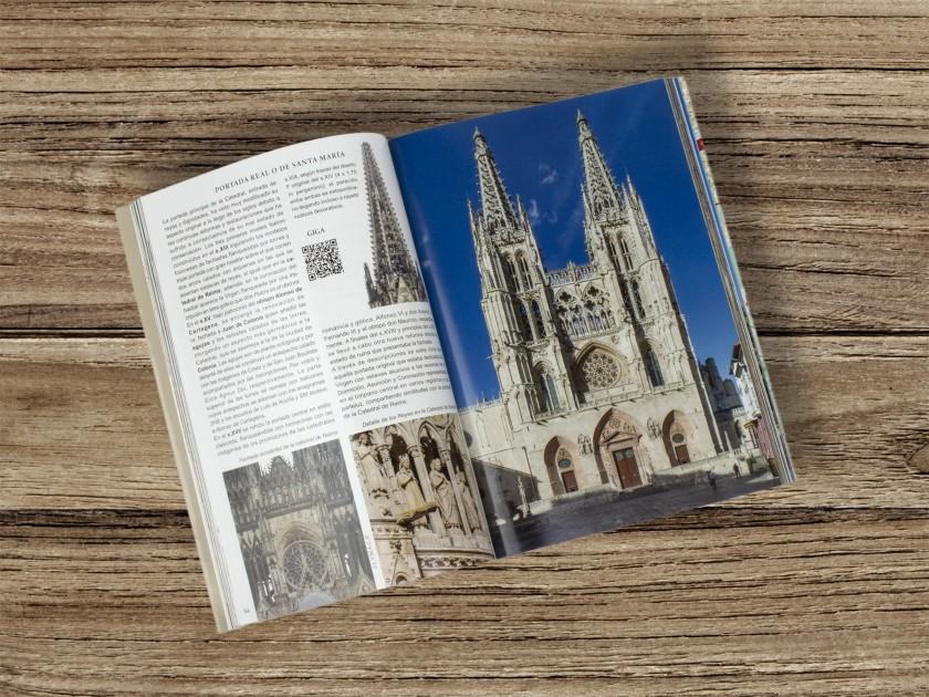 tapa de una guía turística de Burgos