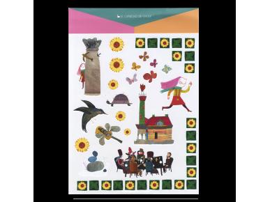 Pegatinas Infantiles - El Enigma de Villa Quijano