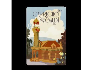 Carte Postale - Façade Vintage