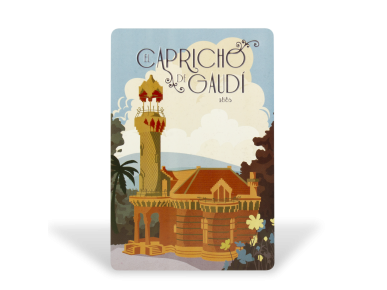 Postcard - Vintage Facade