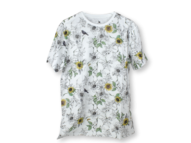 Camiseta - Flores Pattern