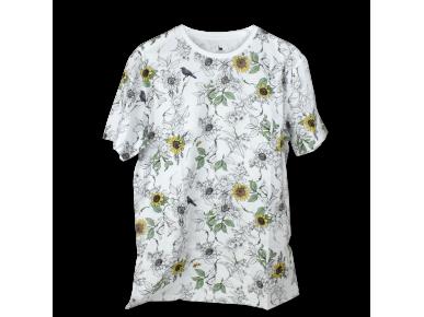T-Shirt - Flores Pattern
