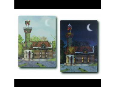 Carte Postale Lenticulaire - El Capricho de Gaudí