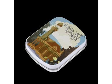 Cajita de Caramelos de Menta - Fachada Vintage
