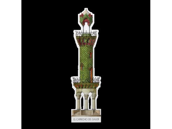 Marcapáginas - El Capricho de Gaudí
