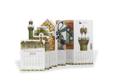 Calendrier de Poche 2021 - El Capricho de Gaudí