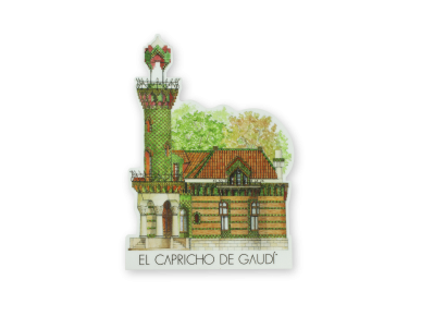 Mouse Pad - El Capricho of Gaudí