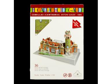 3D Puzzle Model - El Capricho de Gaudí