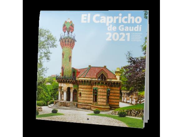 Calendario 2021 - El Capricho de Gaudí