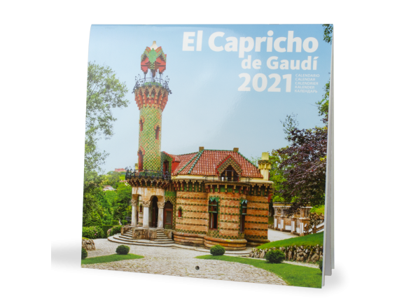 Calendrier 2021 - El Capricho de Gaudí