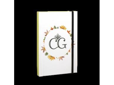Cuaderno Moleskine - Monograma CG