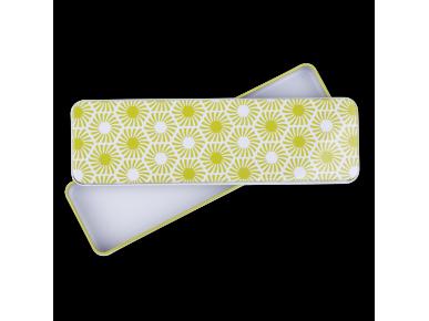 Boîte Plumier - Motif Hexagonal