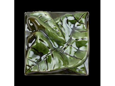 Ceramic Tile - Sunflower Leaf